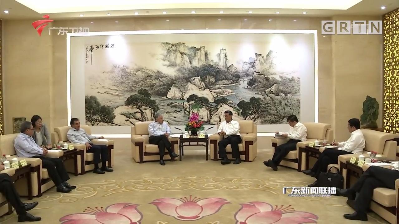 马兴瑞会见星展银行(中国)公司董事长何潮辉