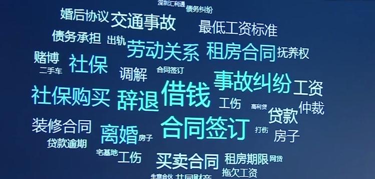 """""""粤省事""""小程序上线七大法律服务"""