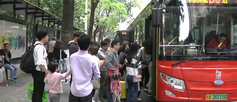 广州46个公交站名更改 街坊们怎么看