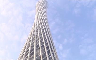 广州塔登高公开赛 111层15分钟登顶