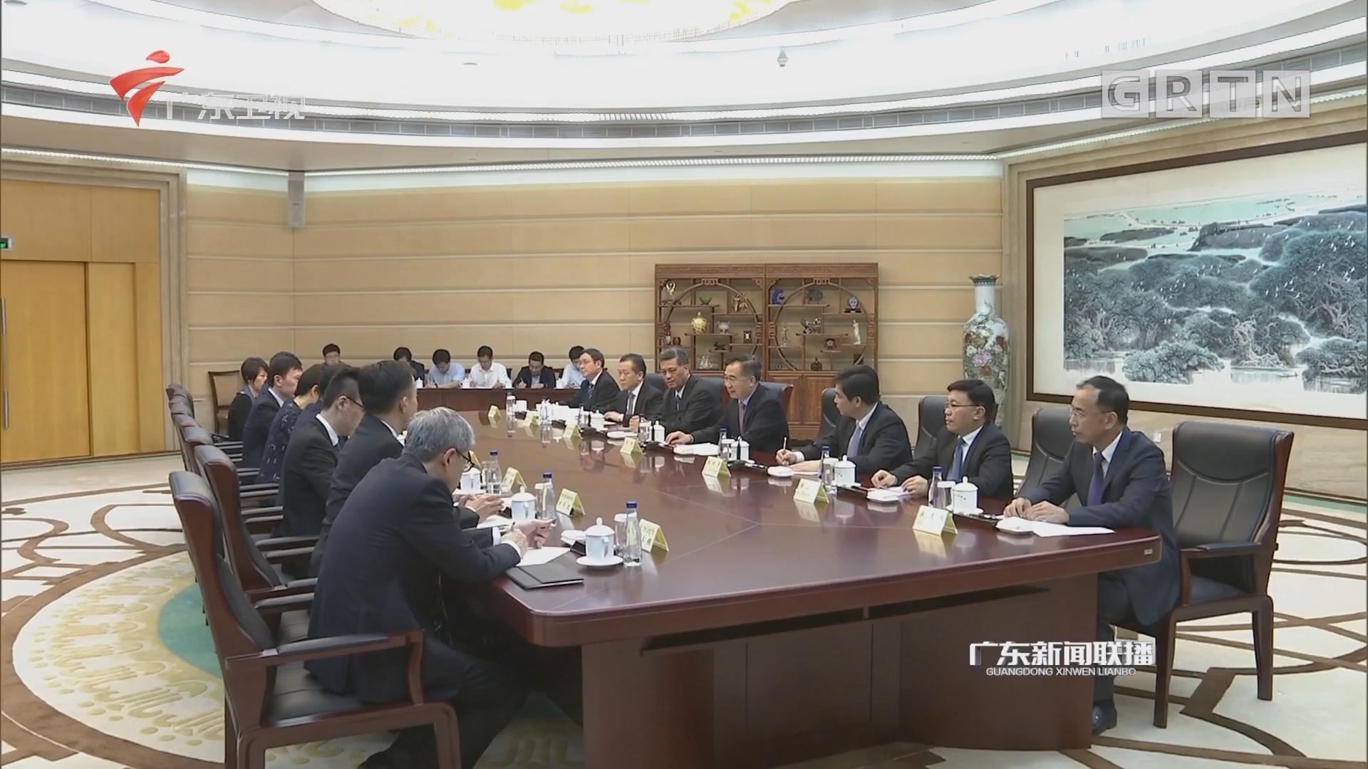 李希马兴瑞会见新加坡教育部长王乙康