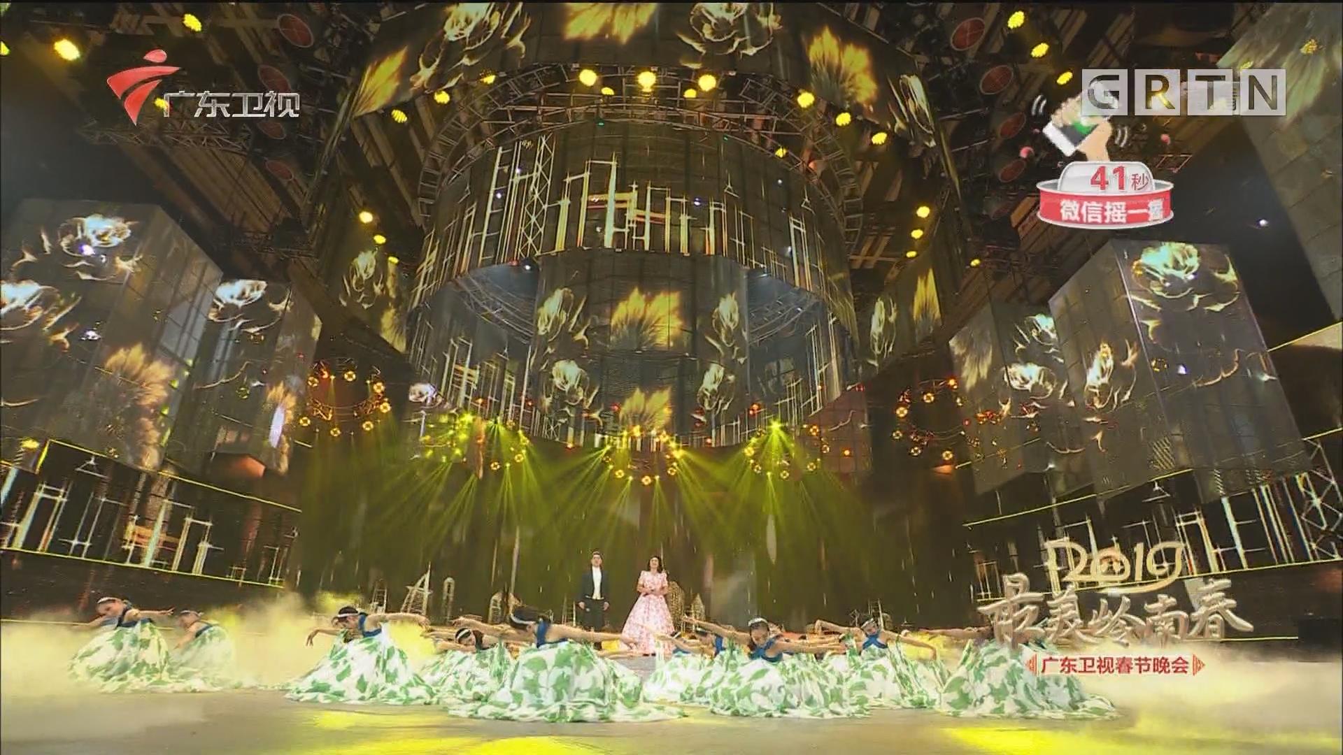 杨岩崔峥嵘2019广东春晚献唱《走近南方》,你感受到南方魅力了吗