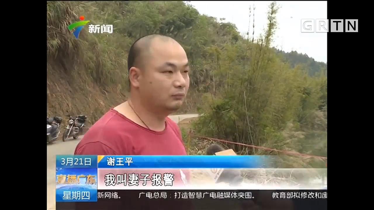河源龙川:汽车坠河 男子勇救两名落水者