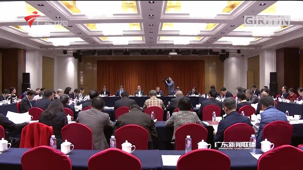 政协委员分组讨论计划报告和预算报告