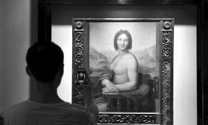 """法国收藏半裸版""""蒙娜丽莎""""或为达芬奇真迹"""