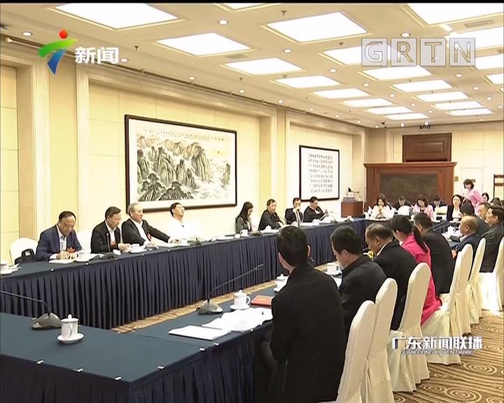 广东团女代表建言献策展风采