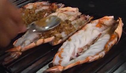 咸柠檬焗海虾