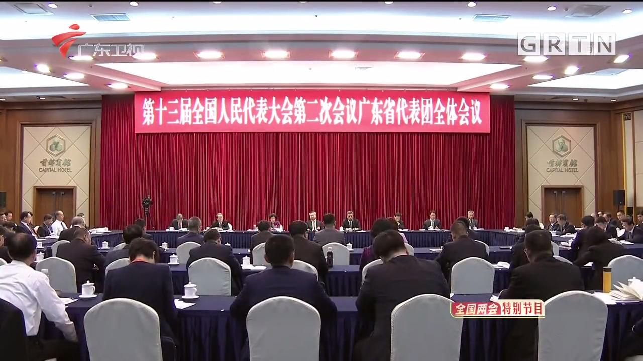 广东代表团重温总书记重要讲话精神