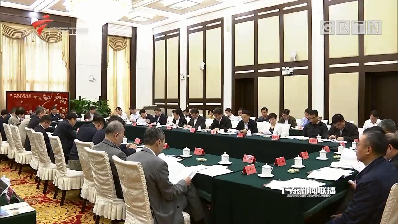 全国无党派人士考察团来粤开展考察调研