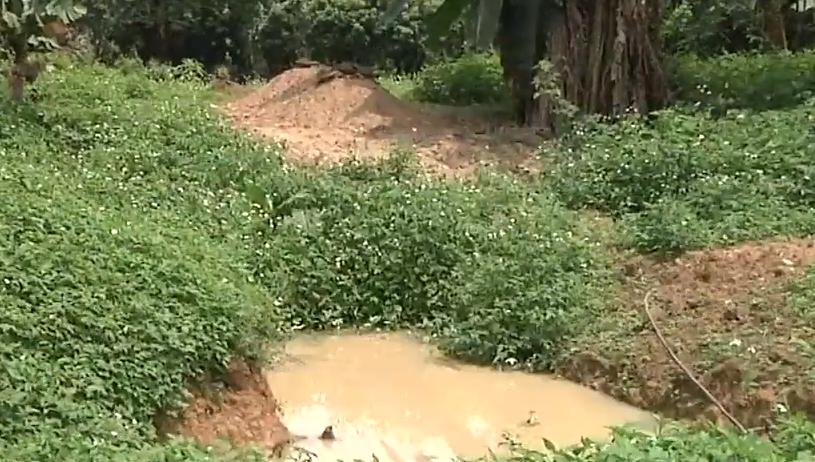 增城:坟前被挖大坑 村委介入协调