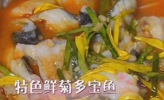 特色鲜菊多宝鱼