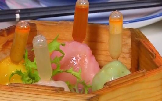四色四味虾饺