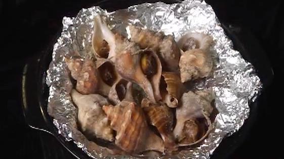 海盐焗海螺