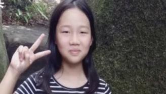 12岁少女离家七天 失联前身边出现一陌生男子