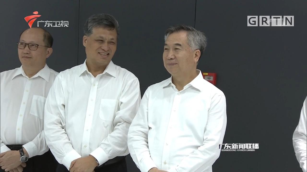 """李希马兴瑞调研我省""""数字政府""""改革建设工作"""