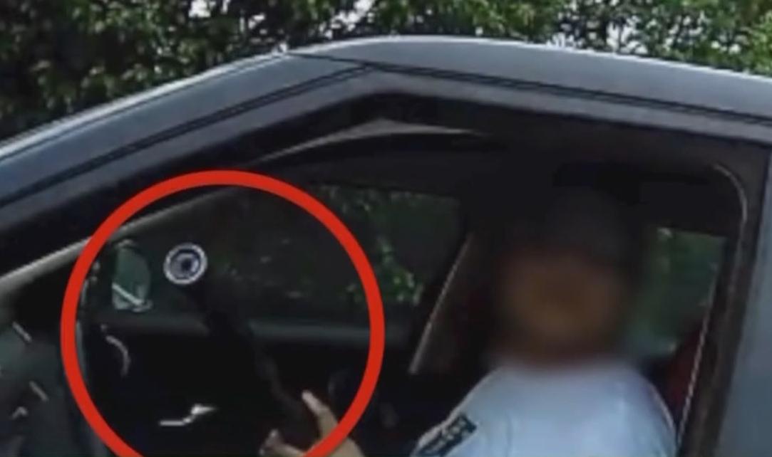 网闻:男子毒驾被查拒绝下车 拿出上膛气枪对准民警