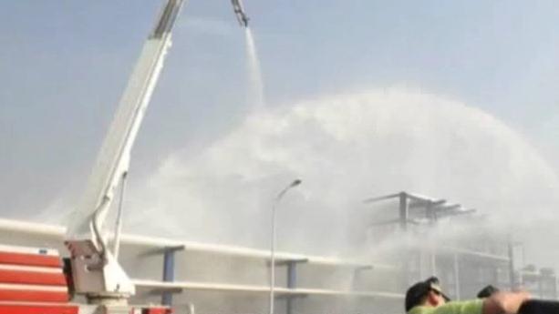 顺德:燃气站漏气 周边居民被紧急疏散