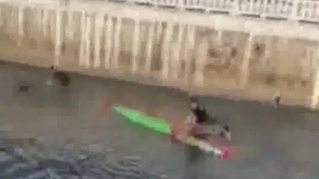汕头潮南区:14岁男孩龙船上玩耍 不慎溺水出意外