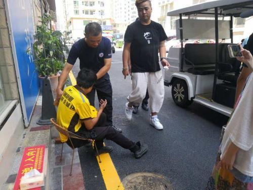 深圳:充電寶在外賣小哥褲袋內爆炸 大腿被炸傷