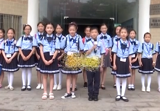[2019-06-13]南方小记者:清远站的小记者们参观清远市博物馆