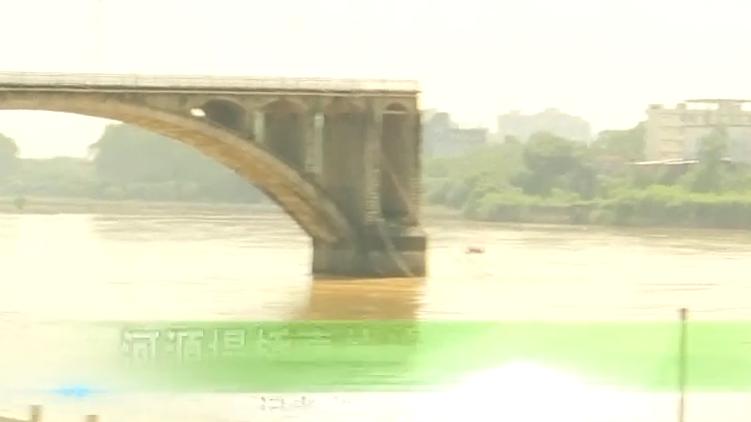 河源塌橋事故追蹤:成功打撈一落水車輛