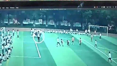 廣州:學校舉辦足球比賽 學生倒地心臟驟停