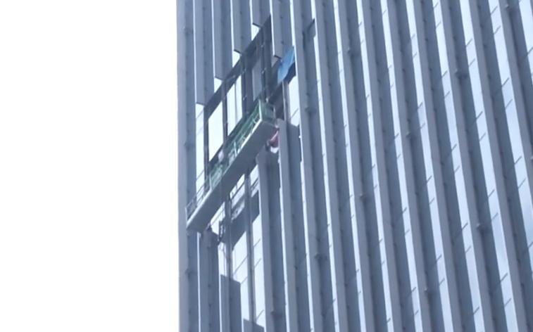 深圳:大廈玻璃幕墻墜落 9個月后仍未修復