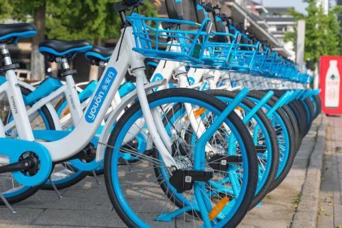 廣州重啟共享單車投放:3年投放40萬輛 新款共享單車受歡迎