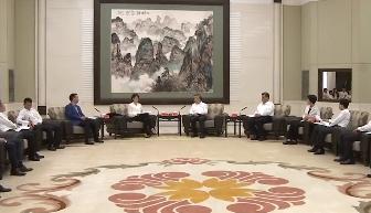 2019年广东扶贫济困日活动在广州举行 李希马兴瑞李玉妹王荣会见爱心企业和爱心人士代表