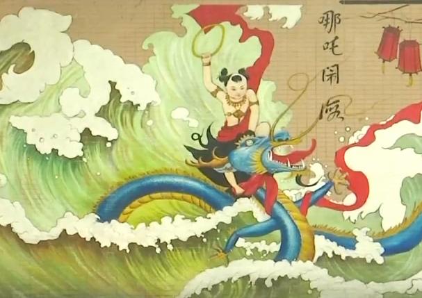 广州:汉塘村供奉哪吒 百余年香火不断