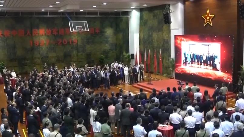 "[HD][2019-08-01]今日关注:驻香港部队举办""八一""招待会庆祝建军92周年"