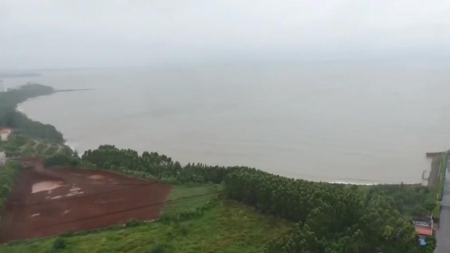 """湛江:""""韦帕""""傍晚登陆坡头 琼州海峡继续停航"""