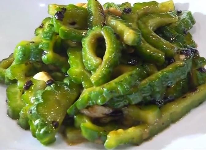 烹饪·豆豉炒凉瓜