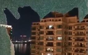 清远:一声巨响! 住户家中钢化玻璃突然自爆