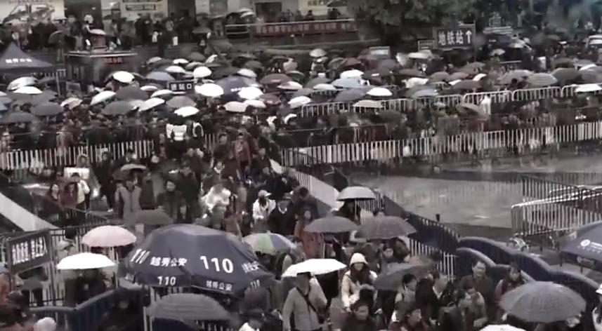 从广州站到白云站 普速铁路大迁移