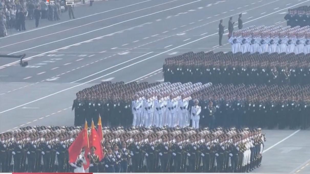 阅兵式上的广东面孔 超燃!中山沙溪小伙拉响国庆阅兵礼炮