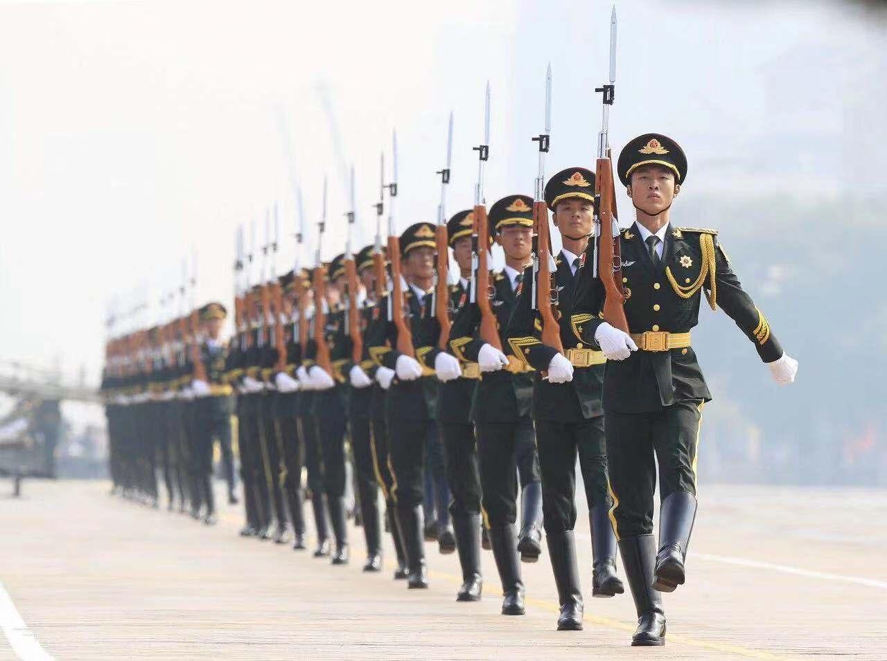 震撼!國慶閱兵全程再現