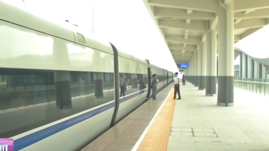 梅汕鐵路明天開通 梅州往廣州僅3.25小時:梅州往廣州深圳 只需3小時左右