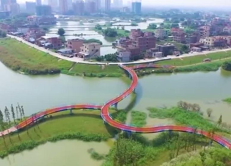 [HD][2019-10-27]广东视窗:江门鹤山:创新城乡水系统筹治理模式 沙坪河综合整治成效显著