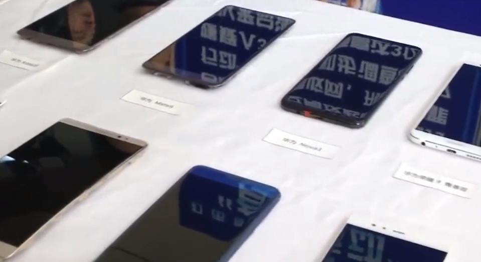 深圳:手机维修山寨件充原装 涉案高达3亿