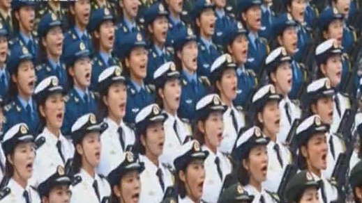 国庆阅兵背后的故事:英姿飒爽!22岁广东女兵亮相国庆阅兵场