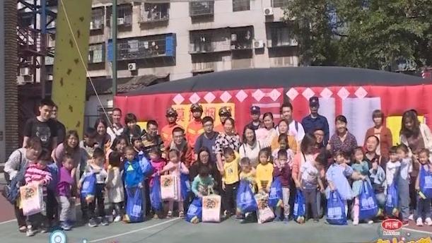 [2019-11-13]南方小记者:翠城消防救援站开展消防演练活动