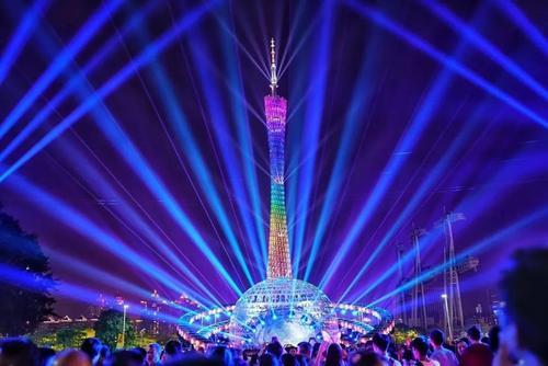 广州:国际灯光节18日开放 明起接受预约