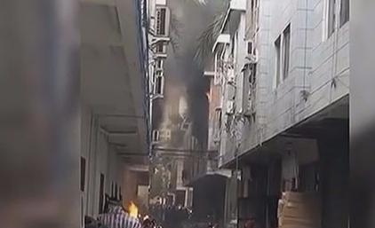 中山东升商贸城发生爆炸