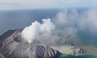 新西兰火山喷发涉及两名中国公民