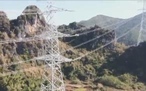 500千伏博贺电厂送出线路工程(云浮段)率先全线贯通