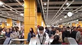 去年广州地铁累计运客33亿人次 6次打破客流记录