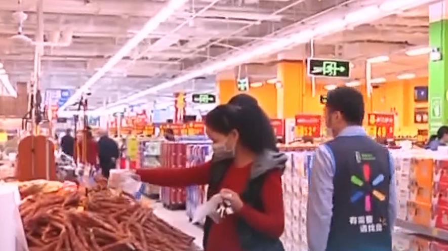 有序复产:商场超市复工经营 市场监管局多路巡查
