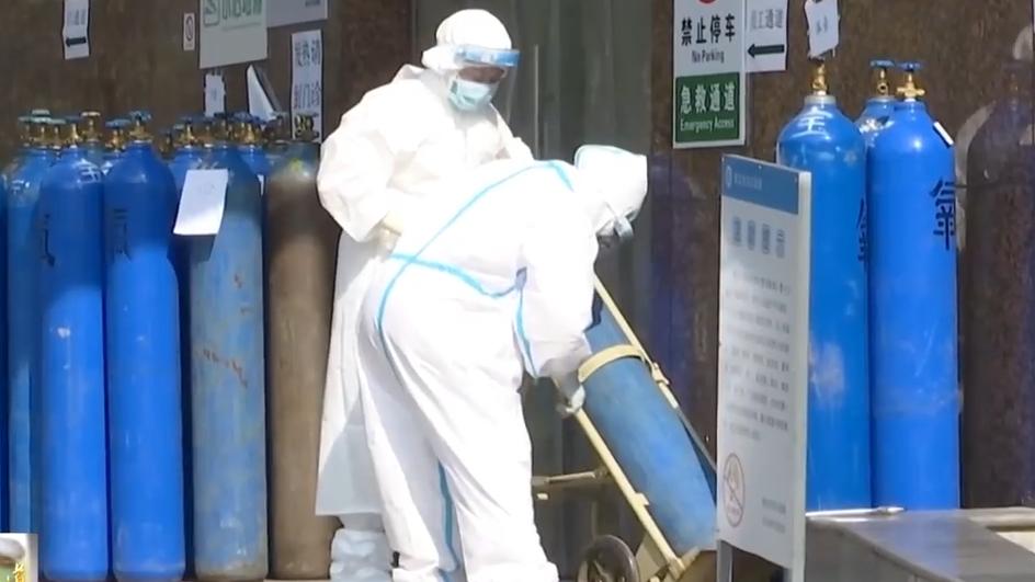 广东医疗队广泛使用氧疗 治疗效果明显