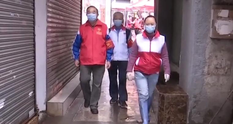 广州:守望相助 社区志愿者投身基层防疫
